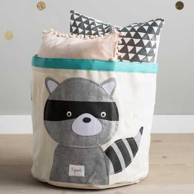Raccoon Storage Bin - Wayfair