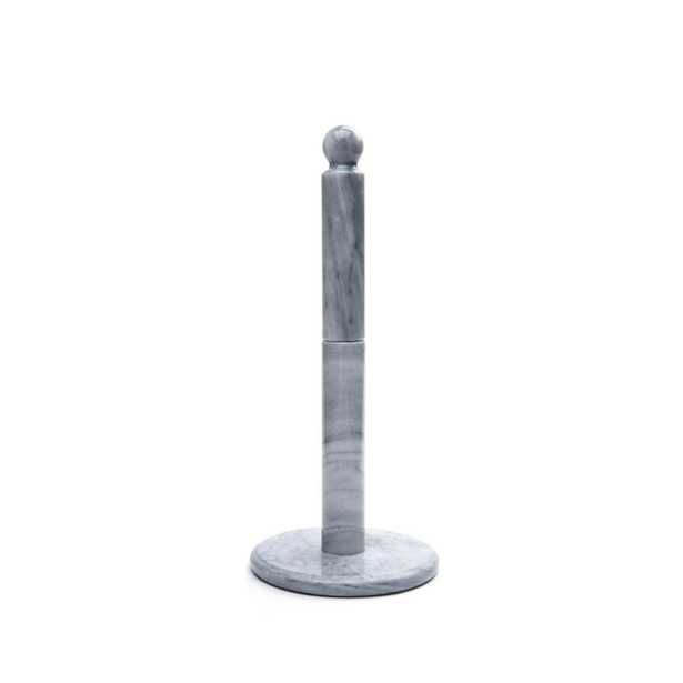 Marble Paper Towel Holder, WHITE MARBLE - Home Depot
