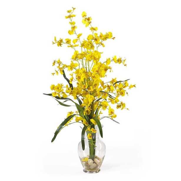31 in. Dancing Lady Silk Flower Arrangement - Home Depot