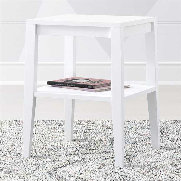 Kids Ever Simple White Nightstand - Crate and Barrel