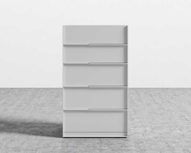 Hunter Tall Dresser - Glossy White Lacquer - Rove Concepts