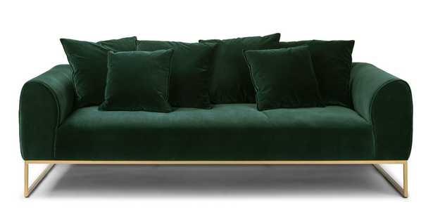 Kits Balsam Green Sofa - Article