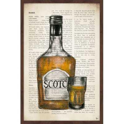 'Scotch History' Framed Painting Print - Wayfair