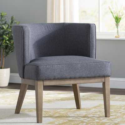 "Slate Gray Barnard 25.5"" W Barrel Chair - Wayfair"