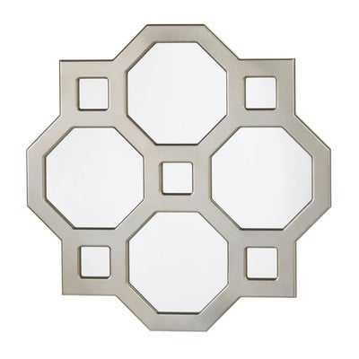 Geometric Decorative Wall Mirror - Wayfair