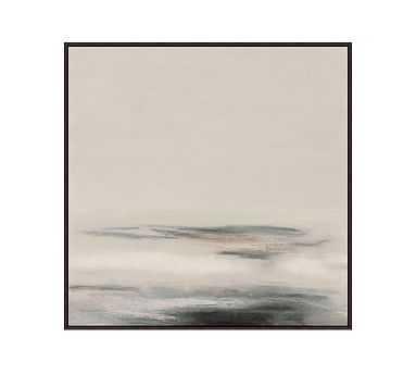 """Coastal Sands 1 Framed Canvas, 31"""" x 31"""" - Pottery Barn"""