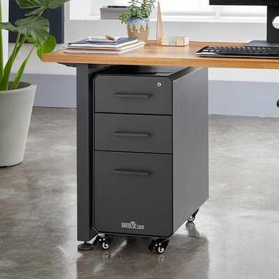 Slim 3-Drawer Vertical Filing Cabinet - Wayfair