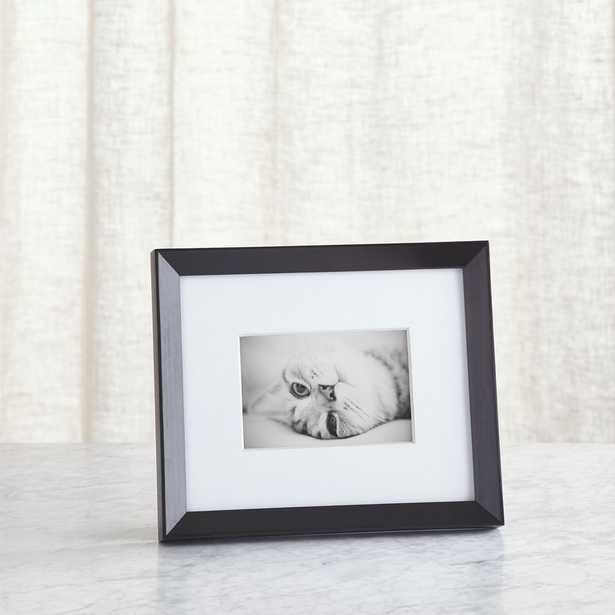 Icon 4x6 Black Picture Frame - Crate and Barrel