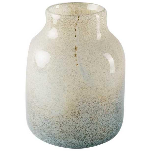 Mercana Kintyre II (Tall) Blue Decorative Vase - Home Depot