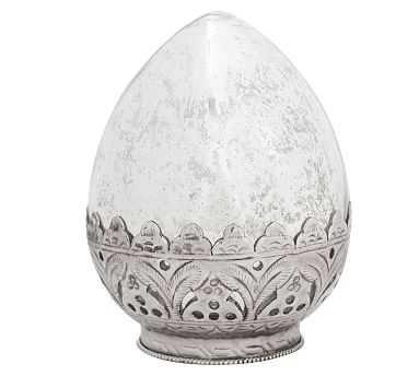 Madeline Mercury Glass Eggs - Small - Pottery Barn