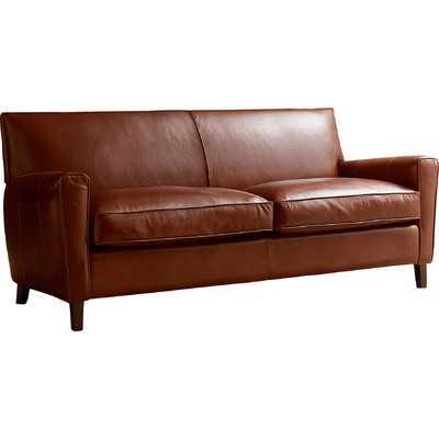 Foster Leather Sofa - Wayfair