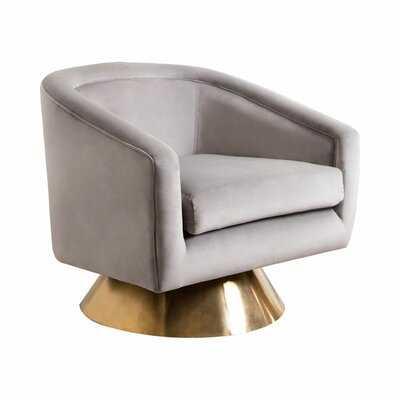 Dayne Swivel Barrel Chair - Wayfair