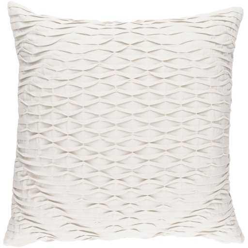 """Baker 18"""" x 18""""  Pillow Shell with Polyester Insert - Neva Home"""
