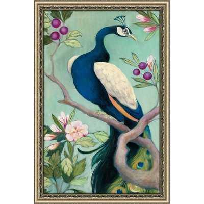 'Pretty Peacock I' Acrylic Painting Print - Wayfair
