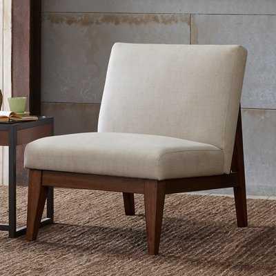Emanuel Slant Back Slipper Chair - Wayfair