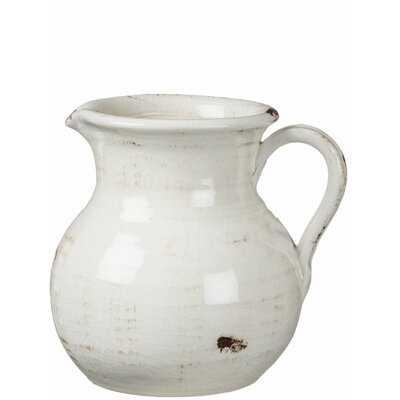 Ralph Pitcher Table Vase 8'' H - Wayfair