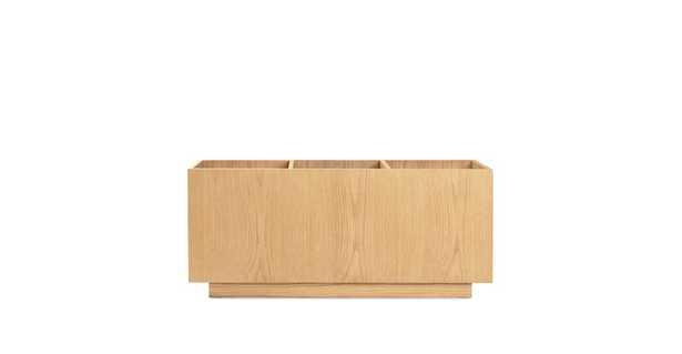 Solae Light Oak Storage Module - Article