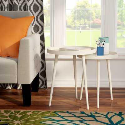 Roberta 2 Piece Nesting Table Set - Birch Lane
