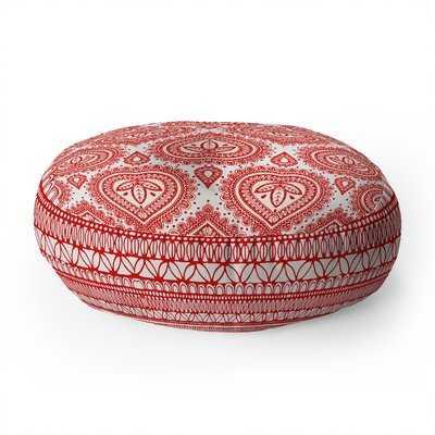 Adair Decorative Round Floor Pillow - AllModern