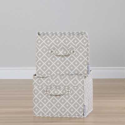 Storit Canvas Baskets (2 Pack) - Wayfair