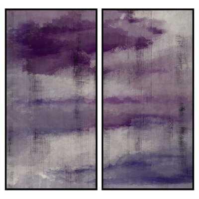 Abstract 2 Piece Framed Painting Print Set - Wayfair