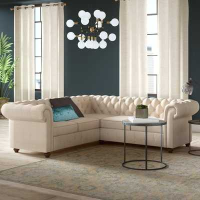 """Quitaque 87.4"""" Right Hand Facing Sectional - Birch Lane"""