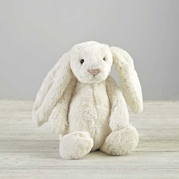 Jellycat ® White Bunny Stuffed Animal - Crate and Barrel