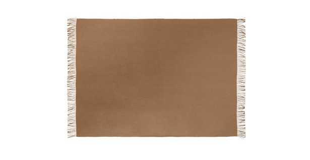 Mollo Camel Brown Throw - Article