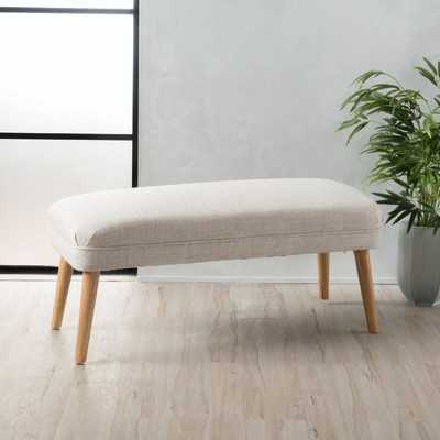 Raleigh Upholstered Ottoman - Wayfair