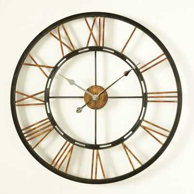 Remus Wall Clock - Wayfair