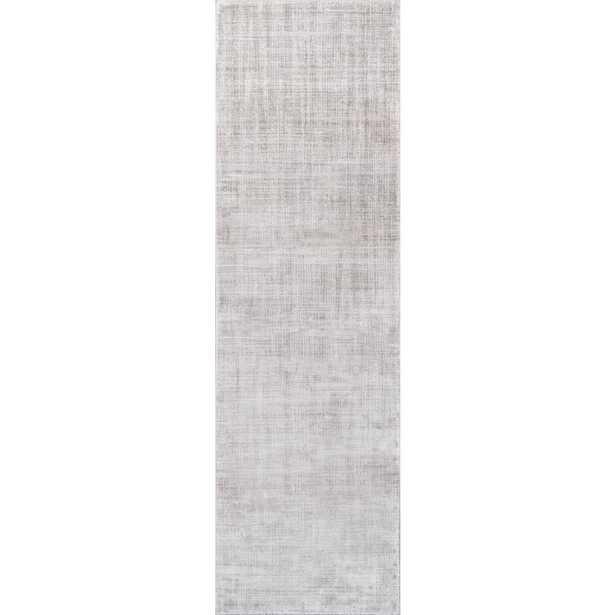 Momeni Cannes Grey 2 ft. 3 in. X 7 ft. 6 in. Indoor Runner Rug - Home Depot