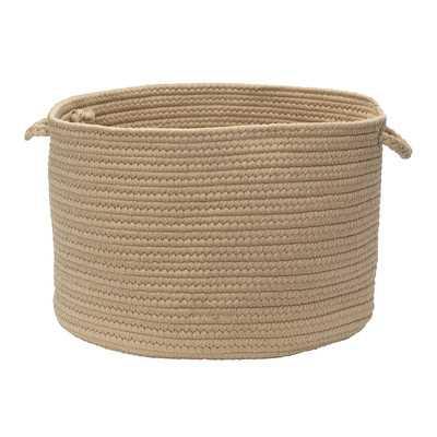 Indoor/Outdoor Braided Storage Basket - Wayfair