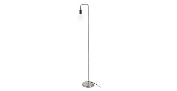 Beacon Nickel Floor Lamp - Article