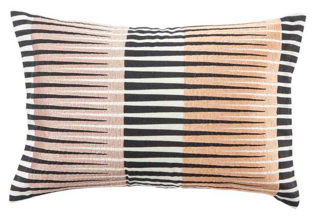 "Adonis Lumbar Pillow, 16""x 24"" - Studio Marcette"
