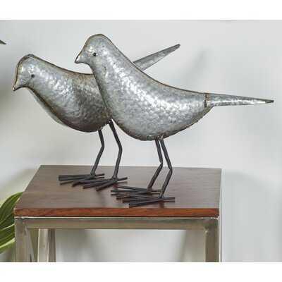 Gardner 2 Piece Bird Figurine Set - Birch Lane