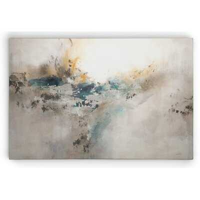 Premium Gallery 'Sterling Impressions' Framed Painting Print on Wrapped Canvas - Wayfair