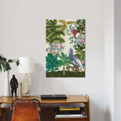 'Paradis Chinoiserie I' Print on Canvas - Wayfair