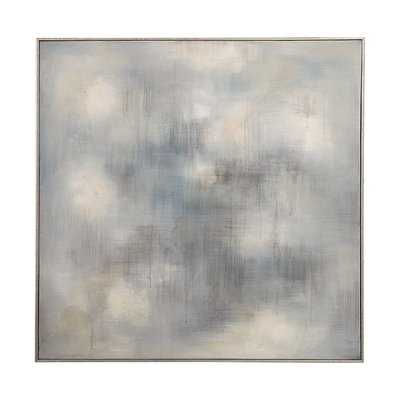 'Foggy' Framed Oil Painting Print on Canvas - Wayfair