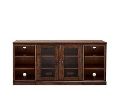 Printer's Media Stand, Bookcase, Tuscan Chestnut stain - Pottery Barn