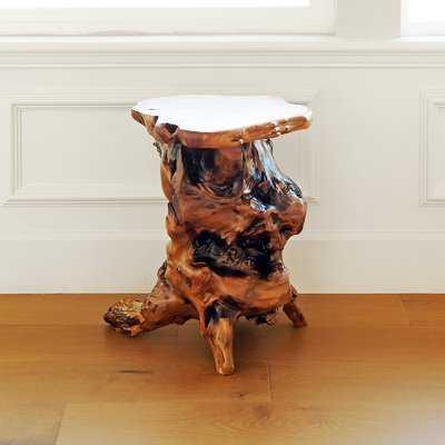 Root Wood End Table - Wayfair
