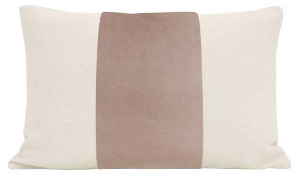 "The Little Lumbar :: PANEL Signature Velvet // Mauve - 12"" X 18"" - Little Design Company"