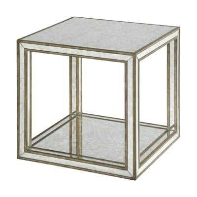 Jayce Mirrored End Table - Wayfair