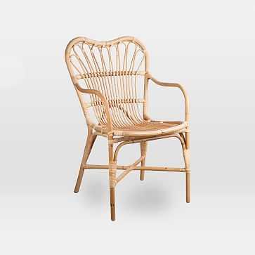 Rattan Arm Chair - West Elm