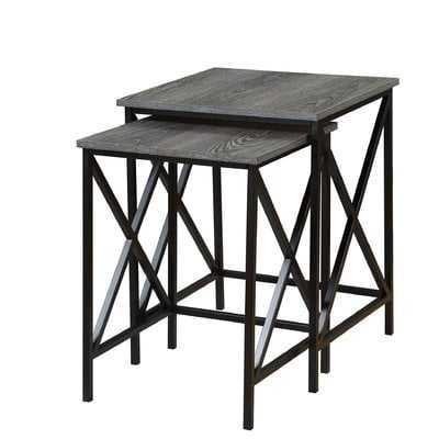 Creeksville 2 Piece Nesting Tables - Wayfair
