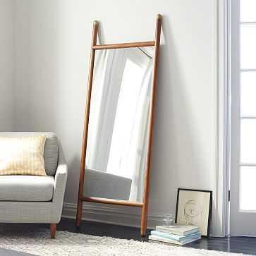 Mid-Century Dowel Floor Mirror - West Elm