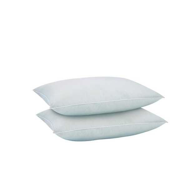 Home Decorators Collection Every Position Cooling Down Alternative King Pillow (Set of 2), White - Home Depot