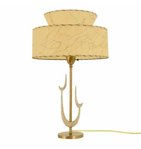 Mid-Century Modern Sculptural Lamp - Rejuvenation