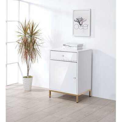 Ken Metal Base Wooden 1-Drawer Vertical Filing Cabinet - Wayfair
