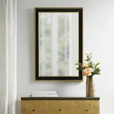 Martha Stewart Hudson Rectangle Modern and Contemporary Accent Mirror - Wayfair
