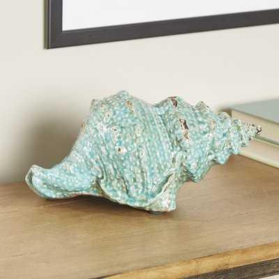 Ponca Seashell Décor Sculpture - Birch Lane